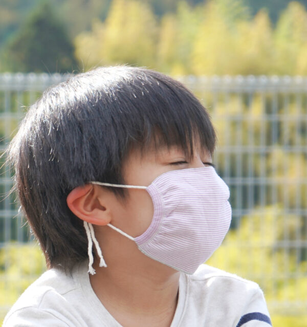 ori the mask kids 人物着用画像