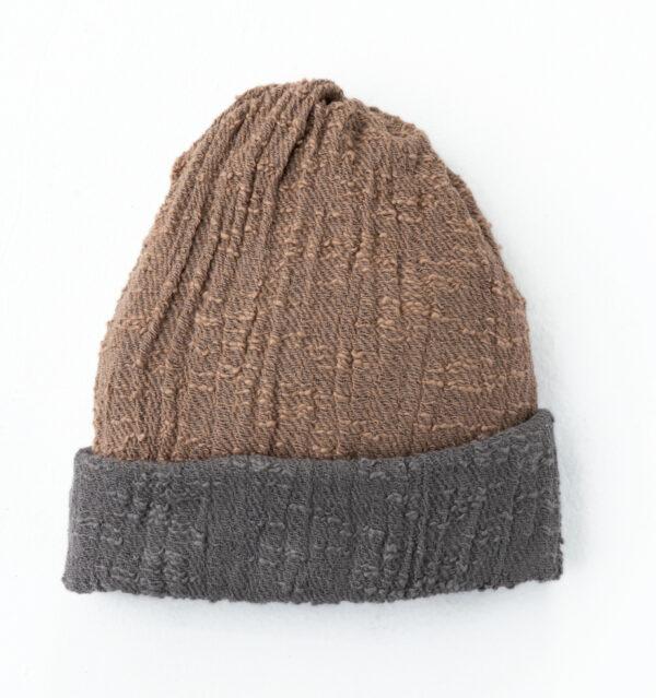 帽子ベージュ単体画像