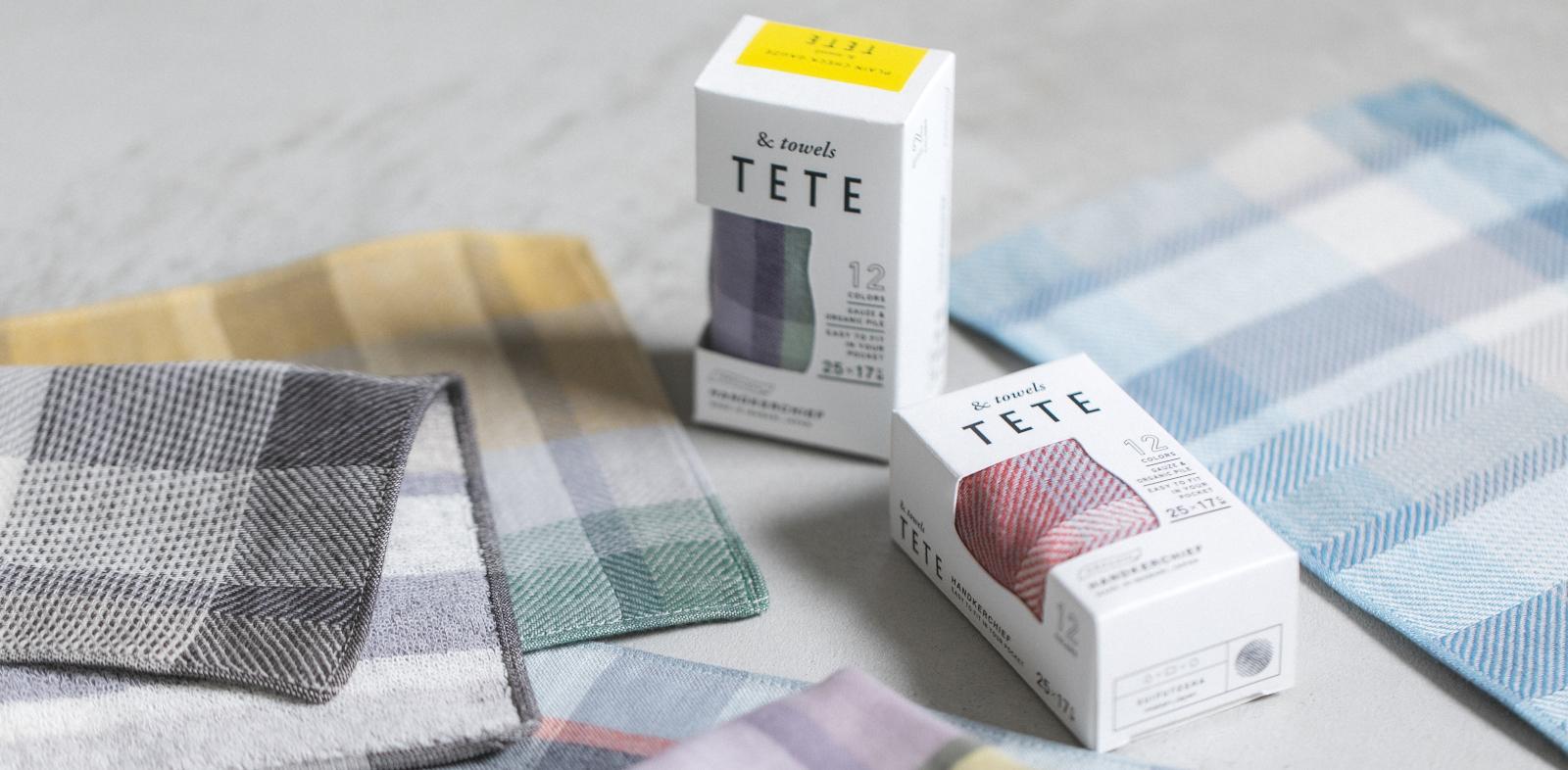 teteタオルハンカチ商品画像