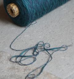 フォレストグリーン杢糸画像