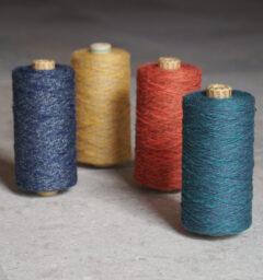 工房織座の杢糸集合画像