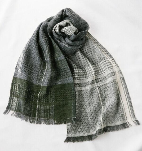 ウールかわり織りマフラー商品単体画像
