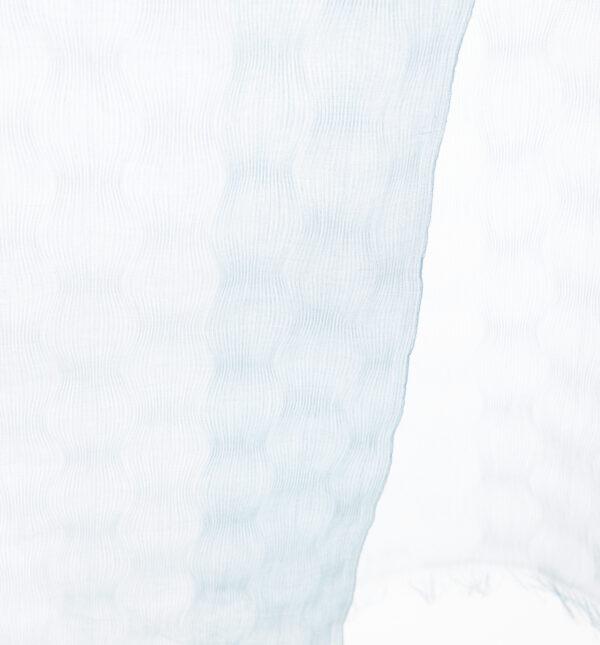SAZANAMI コットンストールブルーゆらぎ模様画像