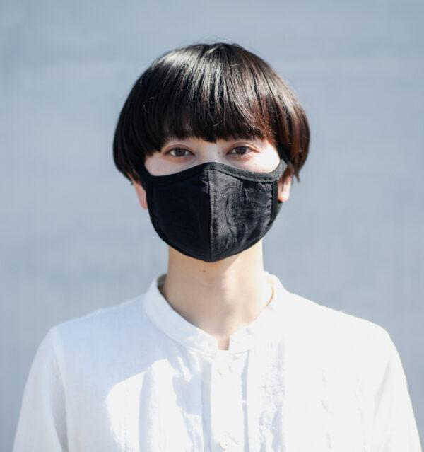 ペタル布マスク着用画像