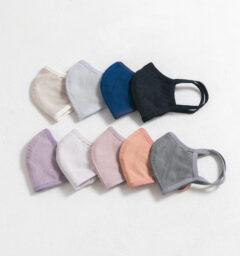 ペタル布マスクサイズMサイズ全9色画像