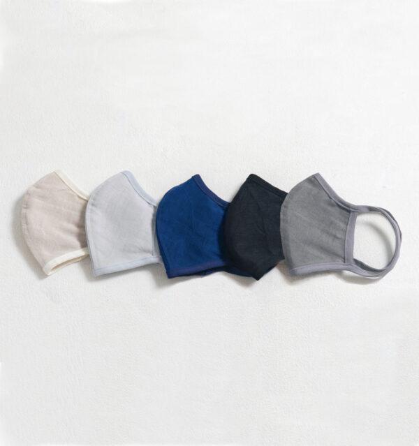 ペタル布マスクサイズLサイズ全5色画像