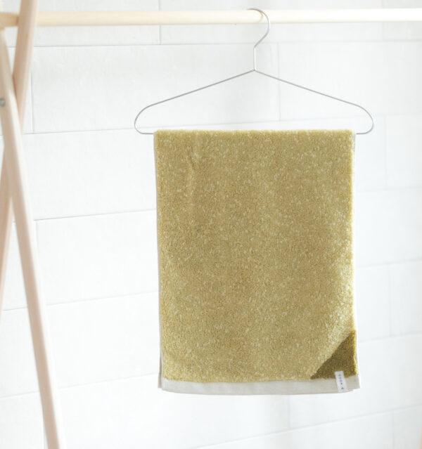 CUON:E クオンイー サファイス リバーシ バスマット イエローグリーン 商品使用画像