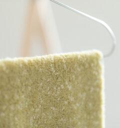 CUON:E クオンイー サファイス リバーシ バスマット イエローグリーン 商品クローズアップ画像
