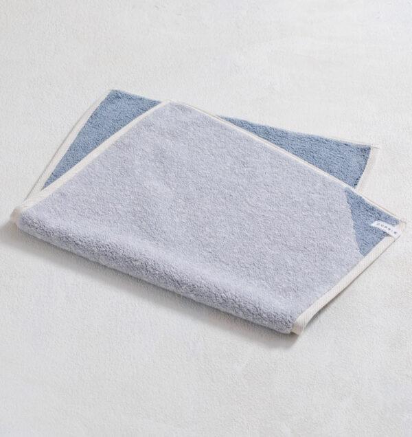 CUON:E クオンイー サファイス リバーシ バスマット ブルー 商品単体画像