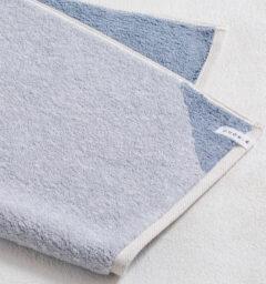 CUON:E クオンイー サファイス リバーシ バスマット ブルー 商品クローズアップ画像