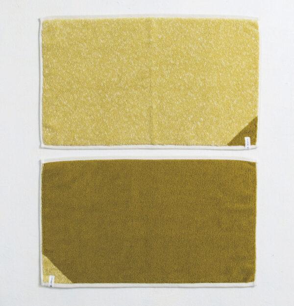 CUON:E クオンイー サファイス リバーシ バスマット イエローグリーン 商品画像