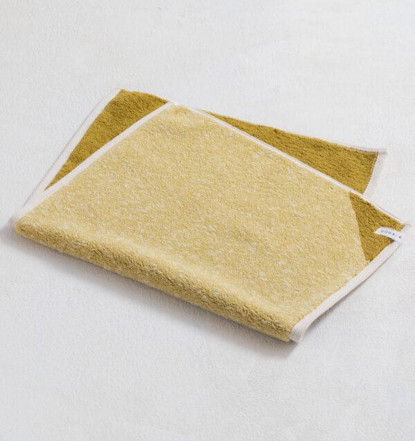 CUON:E クオンイー サファイス リバーシ バスマット イエローグリーン 商品単体画像