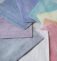 letter&towels ハンカチ集合写真